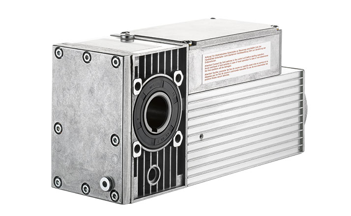 Slip-on geared motor Compacta MS12