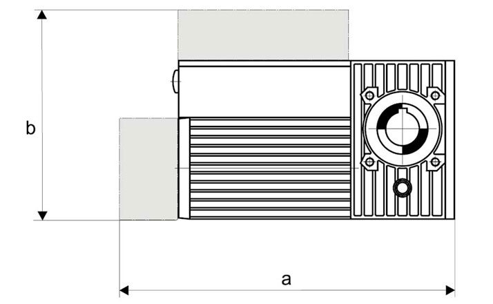 Slip-on geared motor Compacta MS12 Options