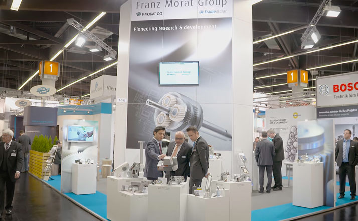 Booth Franz Morat Group at the SPS/IPC/Drives 2015 in Nuremberg