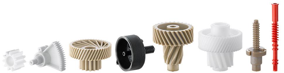 Plastic gear parts